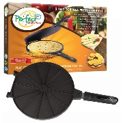 Geoff the Chef Perfect Tortilla Press and Maker, 2-in-1 Tortilla Machine is a Dough Smasher and...