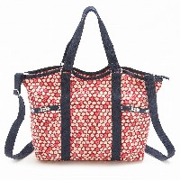 LeSportsac レスポートサック トートバッグ 9811 Small Carry All D842 TRAVEL DAISY RED [並行輸入商品]