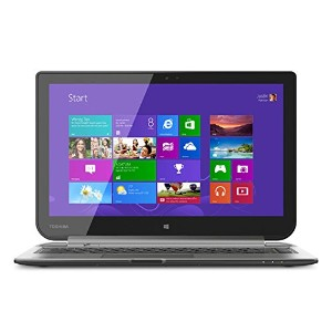 "W35Dt-A3300 Satellite Click 2-in-1 13.3"" Touch-Screen Laptop ラップトップ Toshiba社 Ultimate Silver【並行輸入】"