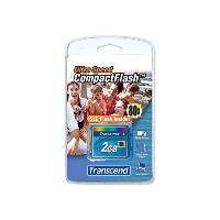 Transcend TS2GCF80 2GB CF CARD (45X, TYPE I )