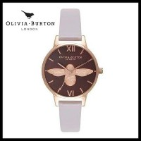 【大人気】OLIVIA BURTON/ MOULDED BEE GREY LILAC ROSE GOLD Olivia Burton(オリビアバートン) バイマ BUYMA