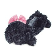 Bestever ベストエバー Pencil Case Black Poodle HotPink rbn