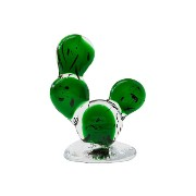 amabro(アマブロ) CACTUS GLASS ORNAMENT Round Fan (S)