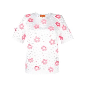 Paskal - Cut-out Floral トップス - women - ポリエステル - M