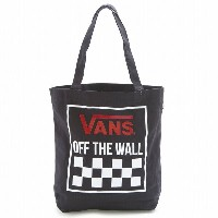 VANS vn0005dqky3- BEEN THERE DONE THAT TOTE トートバッグ メンズ レディース ユニセックス ロゴ OFF THE WALL BLACK OTW/バンズ