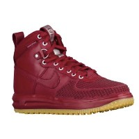 NIKE LUNAR FORCE 1 DUCKBOOTSメンズ Team Red/Gum Light Brown/Team Red ナイキ ルナフォース1 ダックブーツ