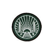 POLeR(ポーラー) R&R IRON-ON PATCHES 506074 GREEN