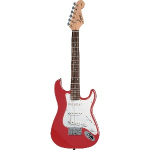 Squier by Fender スクワイアー ミニストラト レッド MINI Strat Electric Guitar, Torino Red[並行輸入]
