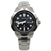 SEIKO セイコー MEN'S SNE107P1 SOLAR DIVER BLACK DIAL STAINLESS STEEL WATCH 男性用 メンズ 腕時計 [並行輸入品]