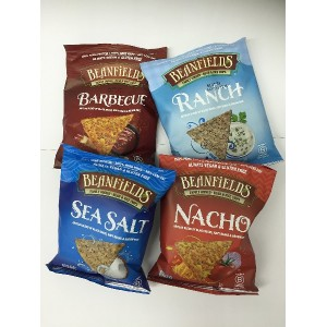 Beanfield's ビーンフィールズ Bean&Rice Chips 1.5oz Variety Pack [並行輸入品]