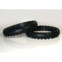 RIDE ON Wristbands (Knobby Bands)Black リストバンド