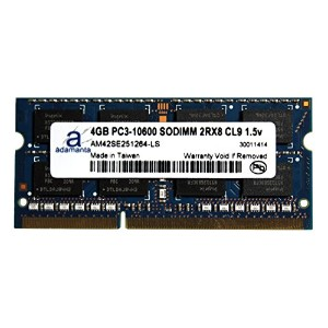 Adamanta 4GB (1x4GB) Laptop Memory Upgrade for ソニー VAIO Z Series VPC-Z11KGX/X DDR3 1333 PC3-10600...