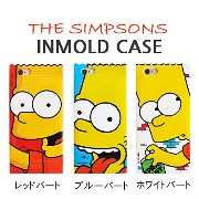 【 iPhone5 iPhone5s iPhoneSe ケース カバー / フィルム付 】 シンプソンズ ゼリーケース The Simpsons Jelly Case 人気 キャラクター...