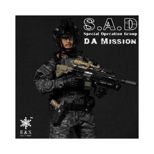【EASY&SIMPLE】26012 S.A.D Special Operation Group DA Operation アメリカCIA特殊作戦グループ 1/6フィギュア