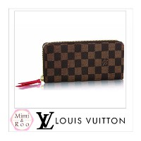 Louis Vuitton ダミエ☆ PORTEFEUILLE CLEMENCE ジップラウンド Louis Vuitton(ルイヴィトン) バイマ BUYMA