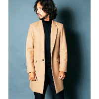 【Magine(マージン)】1634-58-WOOL CASHMERE SINGLE CHESTER FIELD COAT コート