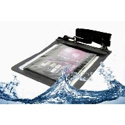 Navitech クリアブラック タブレット防水ケース (Sony Xperia Tablet Z Wi-Fiモデル SGP312JP) 対応
