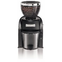 KRUPS GX6000 Burr Coffee Grinder with Grind Size and Cup Selection, Black [並行輸入品]