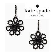 ★kate spade crystal lace leverback drop earrings★送料込 kate spade new york(ケイトスペード) バイマ BUYMA