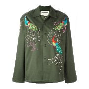 Night Market peacock embroidered jacket