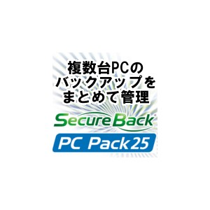 Secure Back 4 PC Pack 25