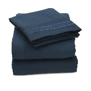 Bed, Bath N More 2000 All Size 12 Colors Collection 4-Piece Egyptian Quality Deep Pocket Bed Sheet...