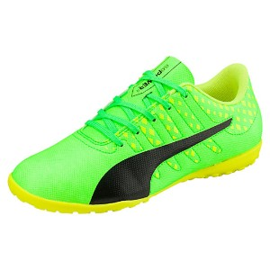 プーマ エヴォパワー VIGOR 4 TT JR ユニセックス Green Gecko-Puma Black-Safety Yellow