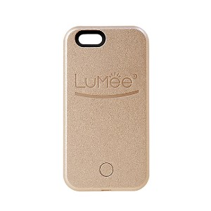 LUMEE  lighted cell phone case(iPhone6/6S Plus対応) ゴールド ファッション小物~~その他