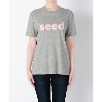 【SALE(三越)】<6397> SEED(6397 NT006PーSEED 16SS) GREY/PINK レディースウエア~~その他トップス