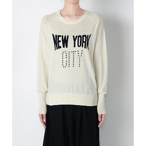 【SALE(三越)】 VENERTA Knitwear  NY CITY(7002Cー103) White レディースウエア~~セーター