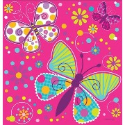 Butterfly Sparkle Party Table Cover