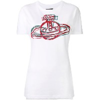 Vivienne Westwood Anglomania ロゴプリント Tシャツ