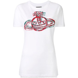 Vivienne Westwood Anglomania - ロゴプリント Tシャツ - women - コットン - L