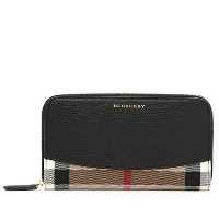 ◆バーバリー HOUSE CHECK ELMORE 3975334 長財布 BLACK Burberry(バーバリー) バイマ BUYMA