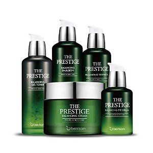 ベリサム(berrisom) The Prestige Balancing アロニズムリニュアル 5種 セット (Toner+Eye serum+Essence+Emulsion+Cream)