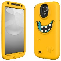 SwitchEasy GALAXY S4 SC-04E用シリコンケース MONSTERS for Samsung GALAXY S4 Freaky イエロー SW-MONG4-Y-JP