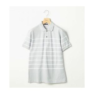 <LACOSTE (ラコステ) × BY> ∴ BORDER POLO/ポロシャツ【ビューティアンドユース ユナイテッドアローズ/BEAUTY&YOUTH UNITED ARROWS ポロシャツ】
