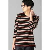 LEVI'S MADE&CRAFTED: Long Sleeve ストライプTシャツ【ジャーナルスタンダード/JOURNAL STANDARD Tシャツ・カットソー】