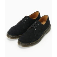 【Dr.Martens】3 eye shoes suede【アイボリー コート/ivory court ロングブーツ】