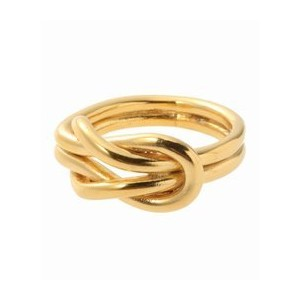 ON THE SUNNYSIDE OF THE STREET Sailor Knot Ring Gold【エディフィス/EDIFICE リング】