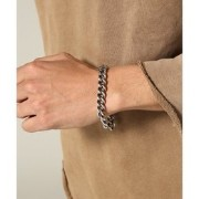 ON THE SUNNY SIDE OF THE STREET: Hollow Curblink Chain Brace【ジャーナルスタンダード/JOURNAL STANDARD ブレスレット...