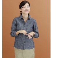DOORS FORK&SPOON Chambray LONG-SLEEVE SHIRTS【アーバンリサーチ/URBAN RESEARCH シャツ・ブラウス】