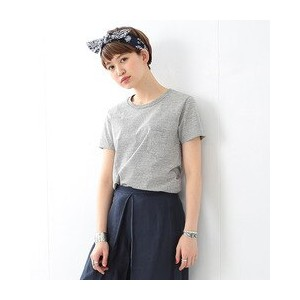 REMI RELIEF×Ray BEAMS / 別注 グレーポケットT【ビームス ウィメン/BEAMS WOMEN Tシャツ・カットソー】