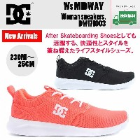 DC SHOES DCシューズ ウィメンズ スニーカー Ws MIDWAY DW171003