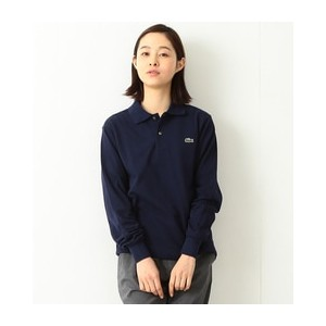 LACOSTE / POLO LONG SLEEVE【ビームス ウィメン/BEAMS WOMEN ポロシャツ】