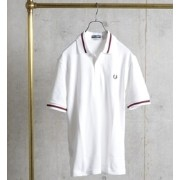 FRED PERRY: 英国製 / M3N ライン ポロシャツ【シップス/SHIPS ポロシャツ】