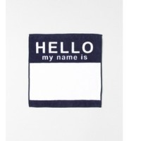 Sonny Label SECOND LAB. HELLO HAND TOWEL【アーバンリサーチ/URBAN RESEARCH タオル】
