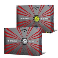 Callaway Chrome Soft X Golf Ball【ゴルフ ボール】