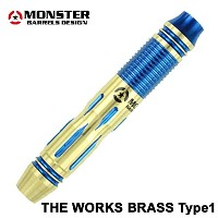 MONSTER THE WORKS BRASS DARTS TYPE1 BLUE