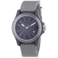 時計 Victorinox ビクトリノックス Swiss Army Men's 241515 Original Grey Dial and Strap Watch Watch メンズ 男性用 ...